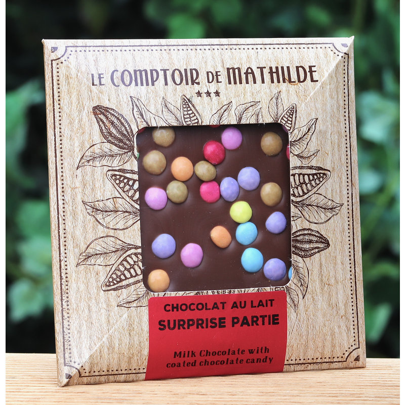 Chocoladetablet melkchocolade met smarties