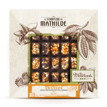 Le Comptoir de Mathilde Plak notenchocolade