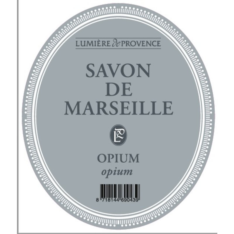 Marseillezeep in de geur opium