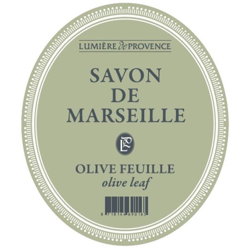 Marseillezeep in de geur olijven