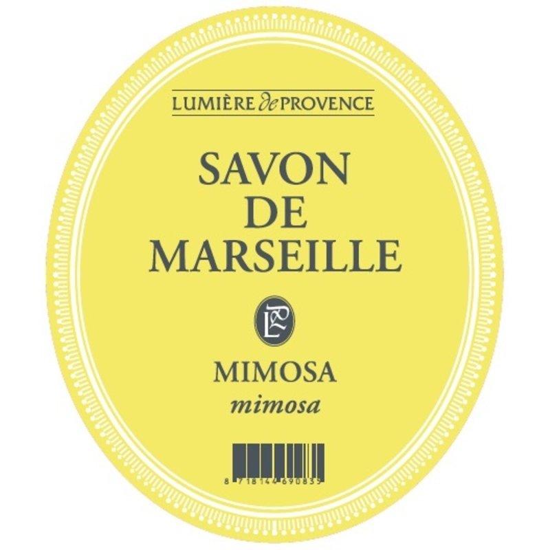 Marseillezeep in de geur mimosa