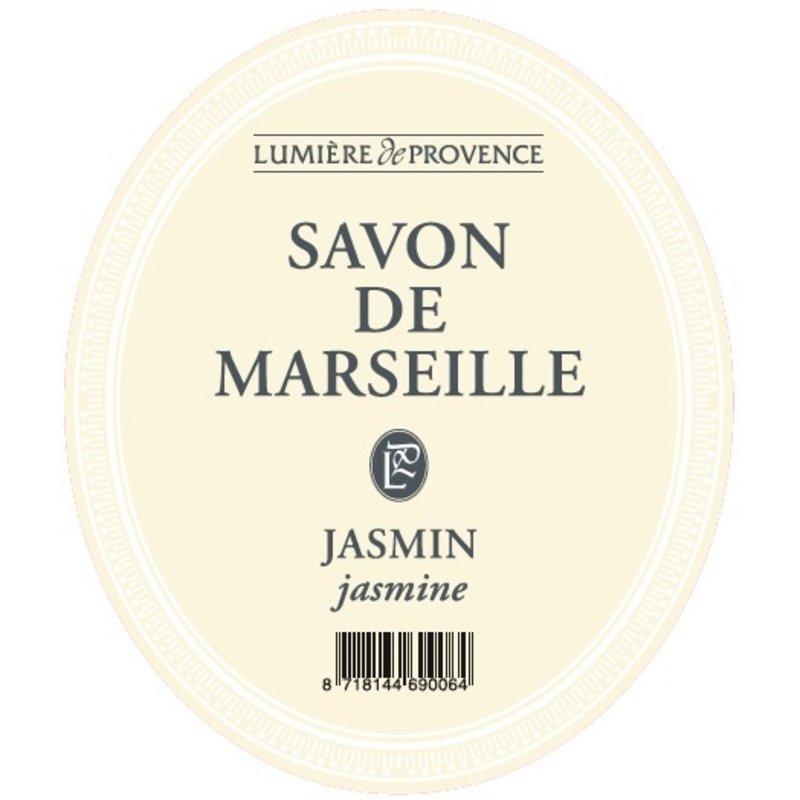 Marseillezeep in de geur jasmijn