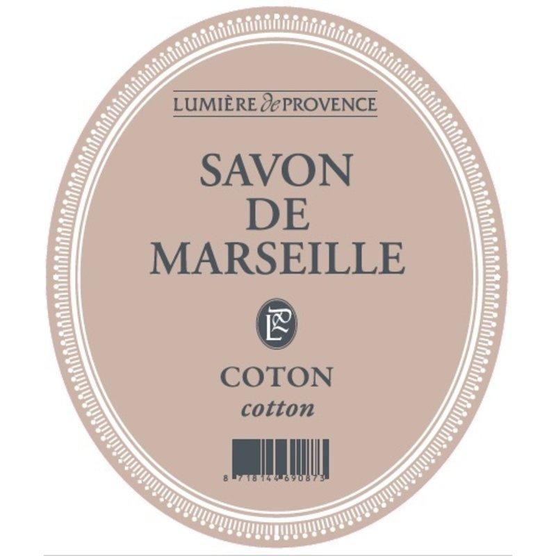 Marseillezeep in de geur coton