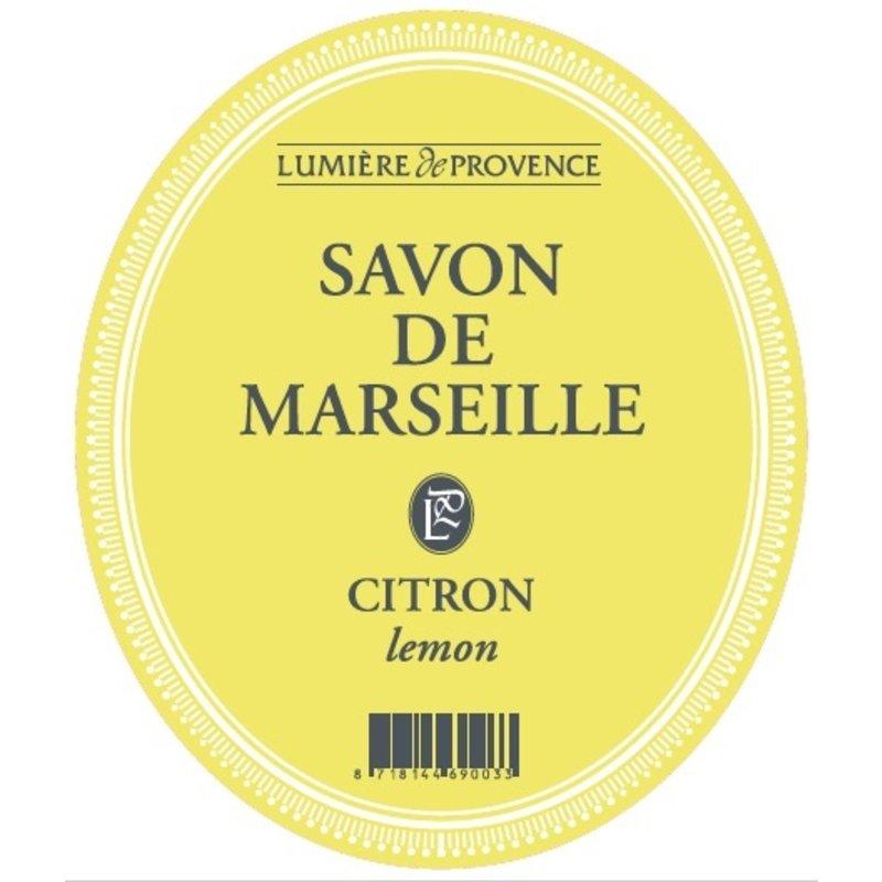 Marseillezeep in de geur citroen