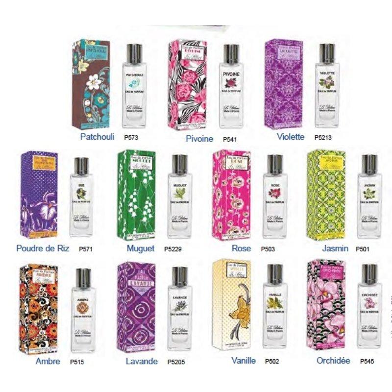 Luxe flacon eau de parfum alle 16 geuren