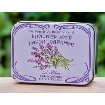 Blikje zeep lavendel