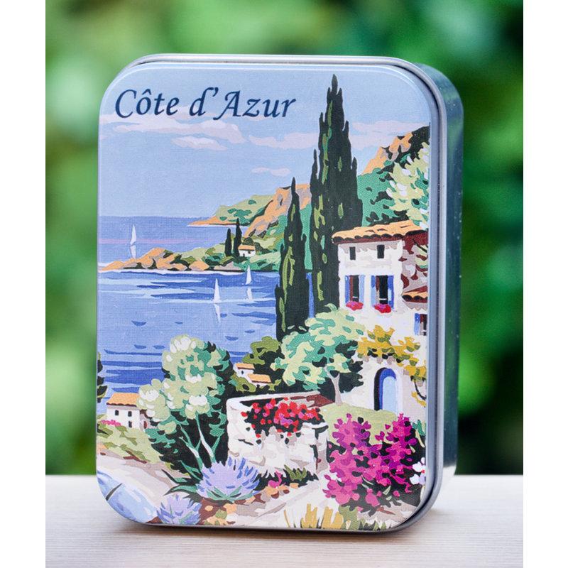 Blikje zeep Côte d'Azur