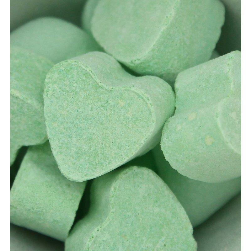 Bruisballen hartje voor in bad jasmijn