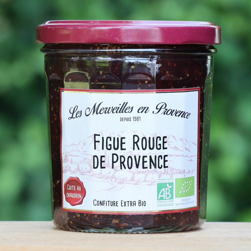 Biologische  confiture van vijgen uit de Provence