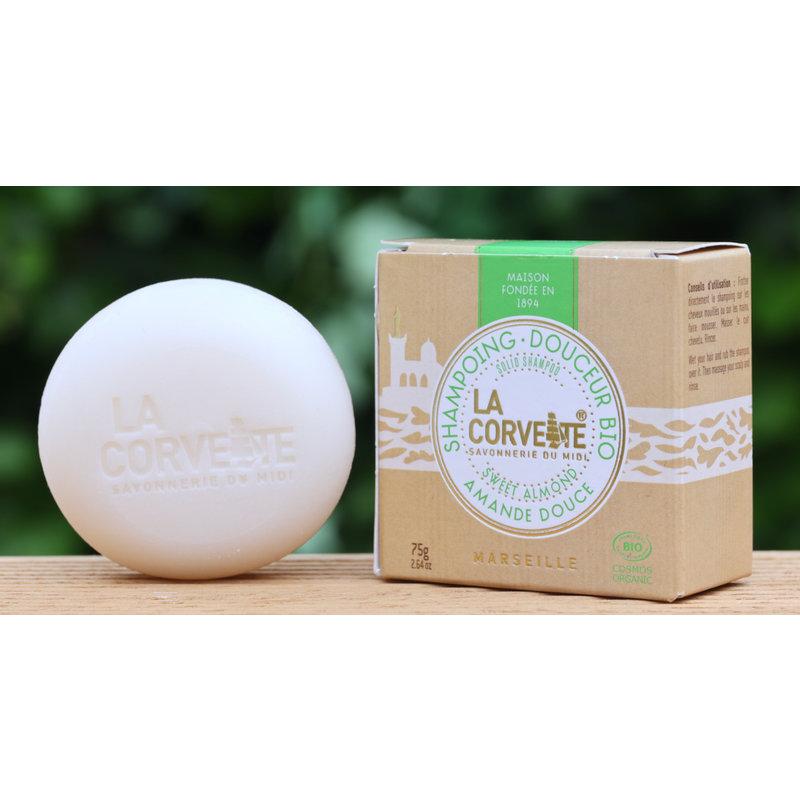 Biologische vaste shampoo