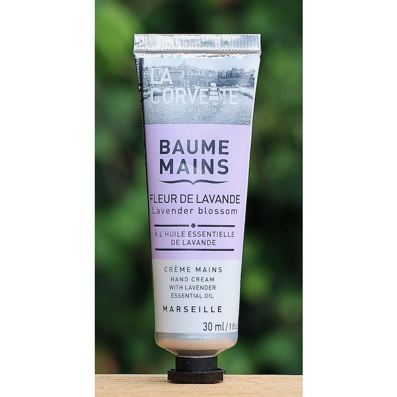 Kleine tube handcreme met lavendelolie