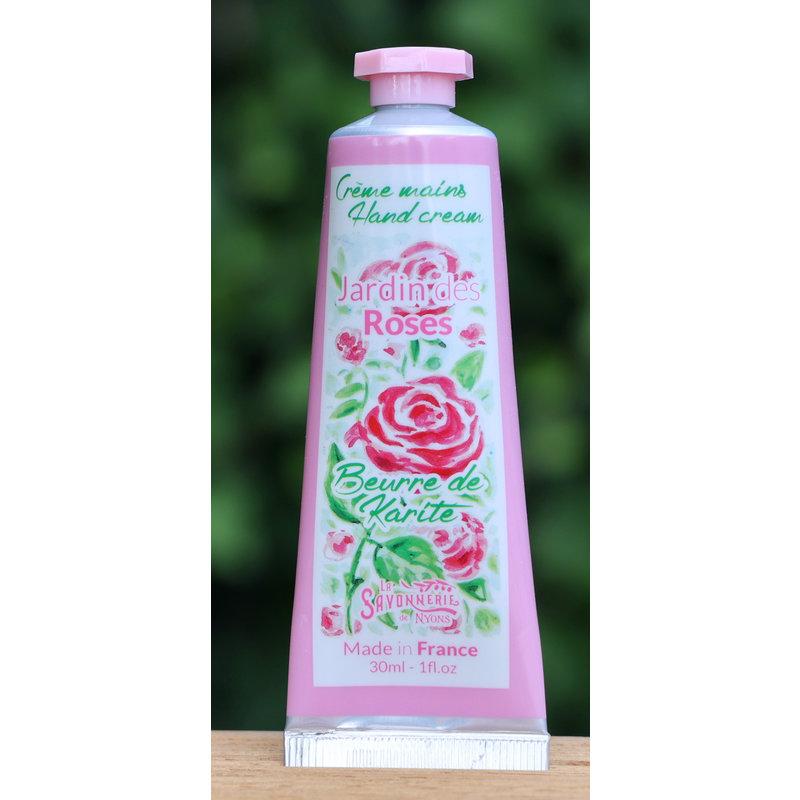 Kleine tube handcreme rozengeur