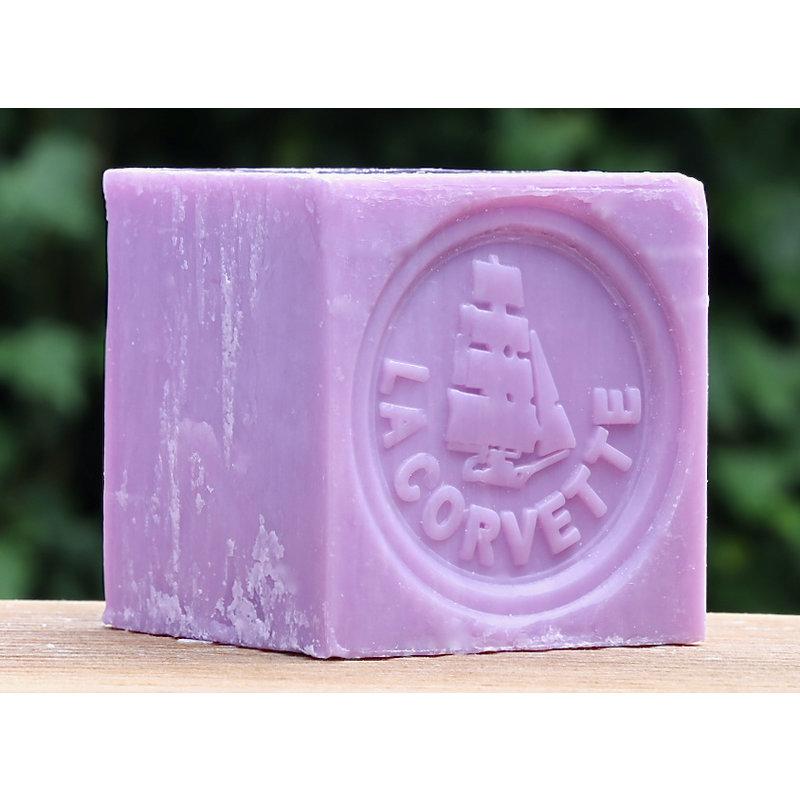 Blok Marseillezeep lavendel  200 gram