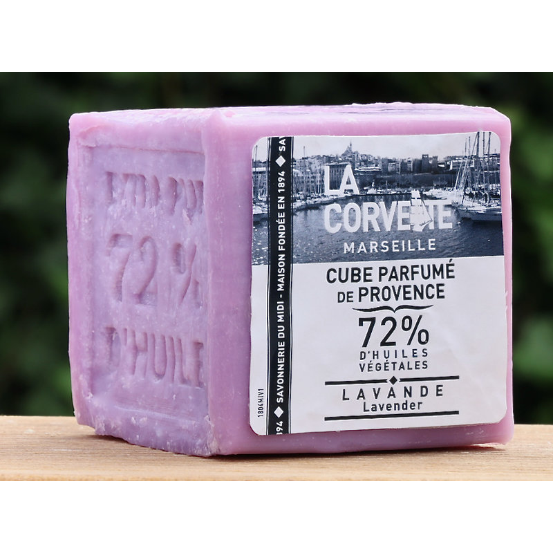 Blok Marseillezeep 300 gram lavendel