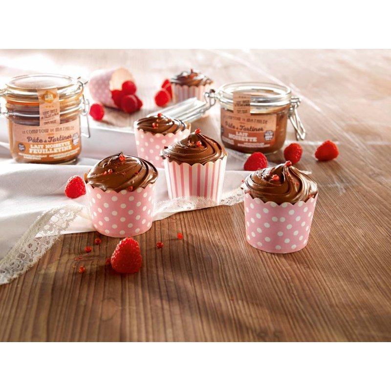 Chooladepasta van pure chocolade