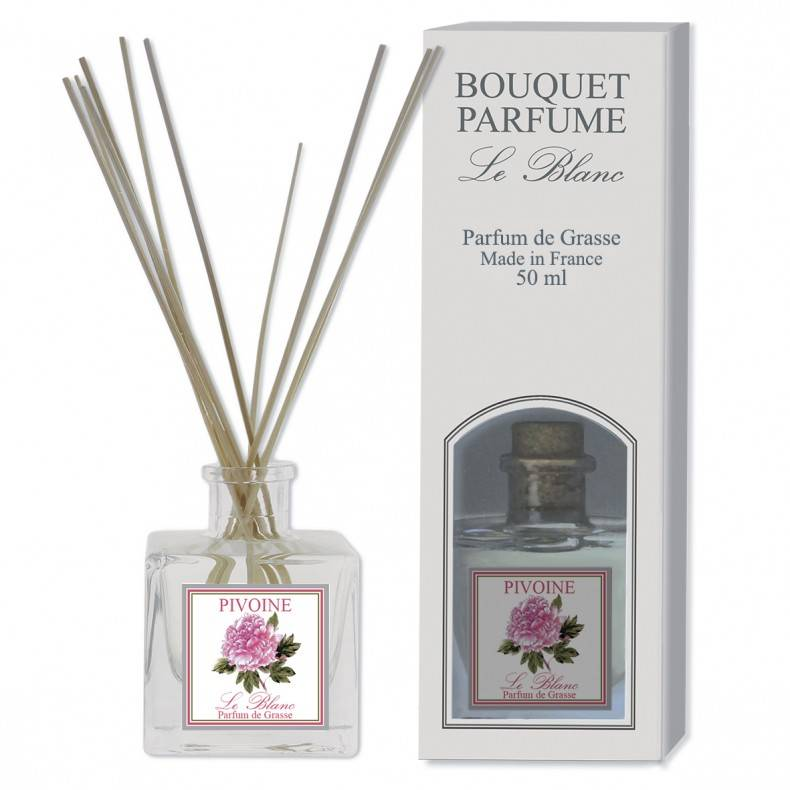 Mini geurstokjes in de geur pioenroos La Tulipe Jaune