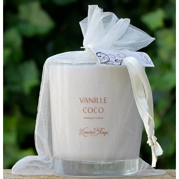 Les Lumières du Temps Kaars vanille kokos