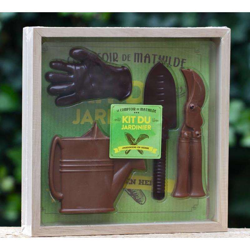 Kistje chocolade voor tuinliefhebbers