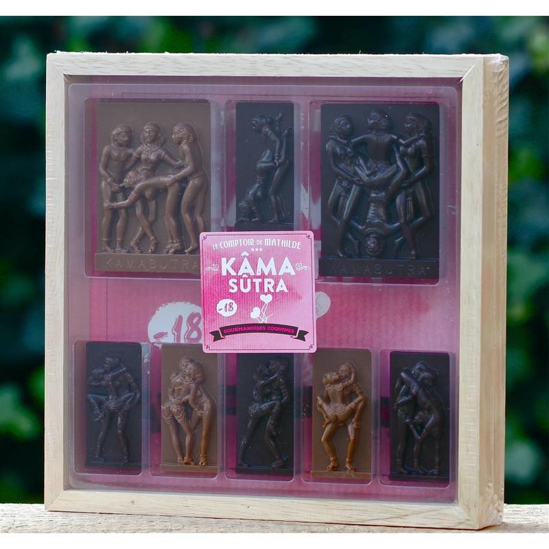 Kistje chocolade Kama Sutra