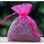 Mini lavendelzakjes organza