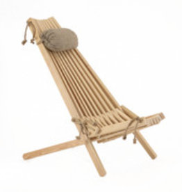 EcoFurn EcoChair Larch Natural (incl. hoofdkussen)