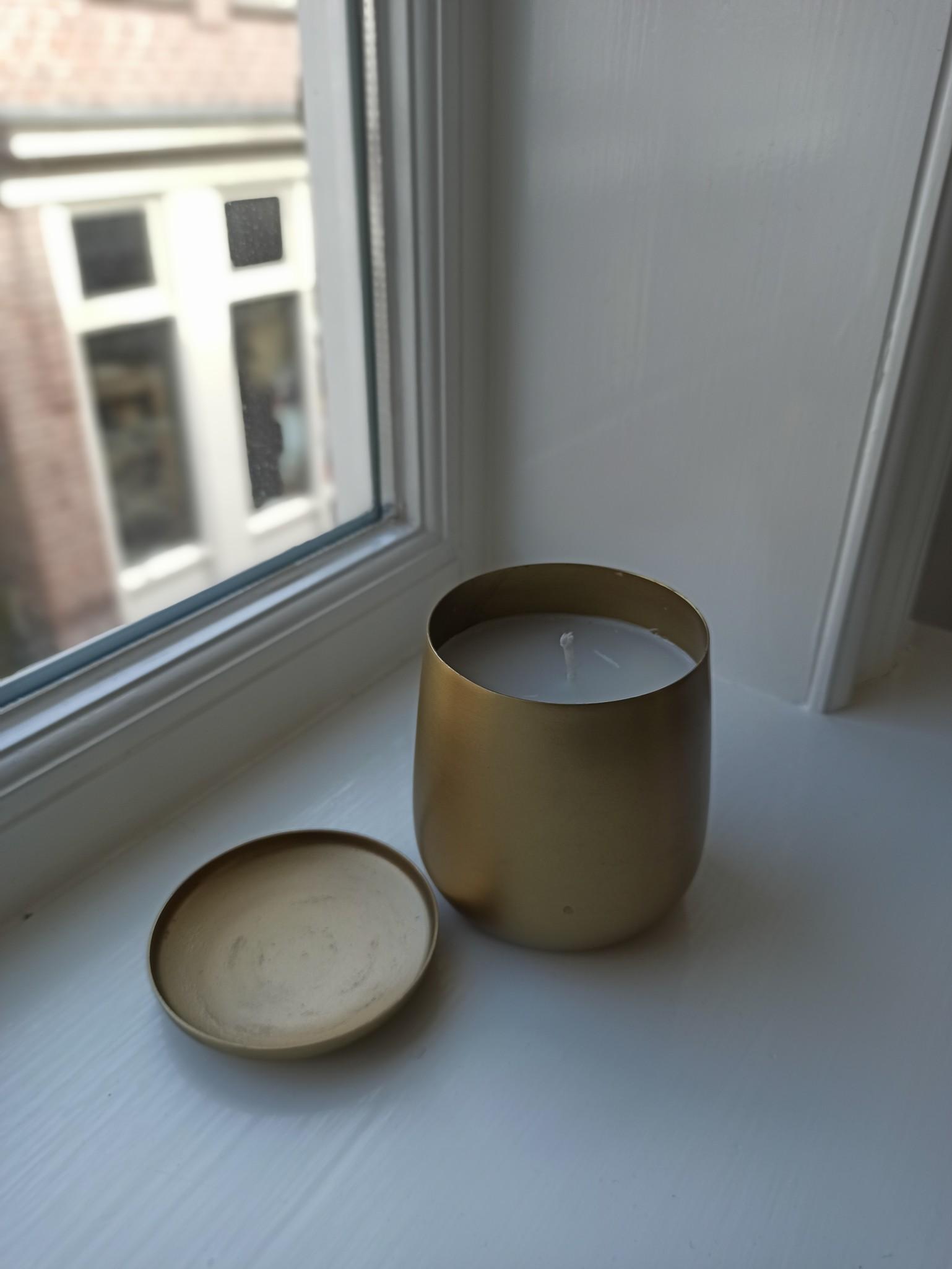 Kaars Metal Gold