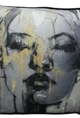 Kussen 'Face' 60x60