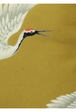 @BERG Kussen Kraanvogel 45x45 cm -geel-