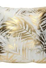 Kussen Leaf 45x45 cm -goud-