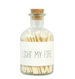 My Flame Lucifers wit -Light my fire-