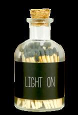 My Flame Lucifers zwart -Light on-