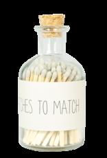 My Flame Lucifers zand -Matches to match-
