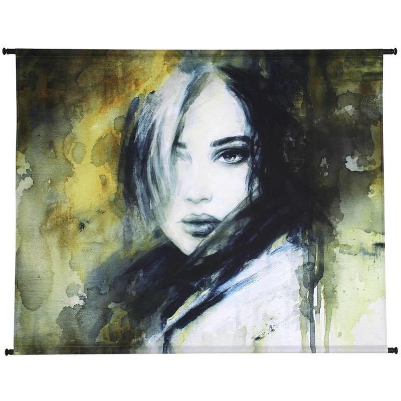 @BERG Wanddoek 'Anna' Yellow