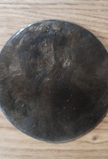 ByBazz Onderzettertje schelp -Blacky/Brown-