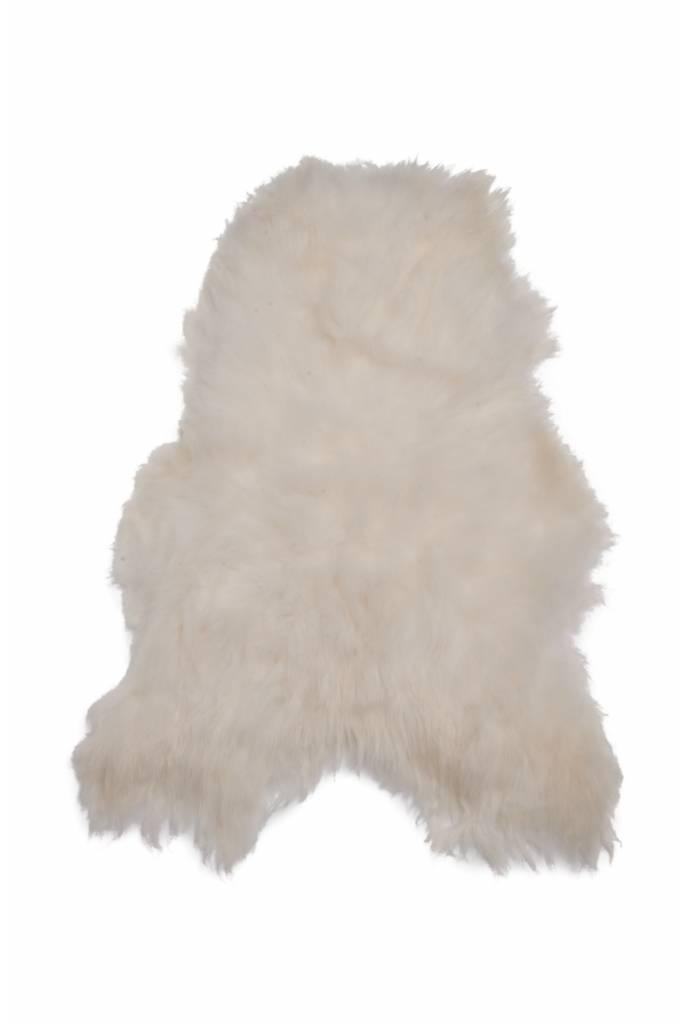 @BERG XL IJslands schapenvacht Ivoor