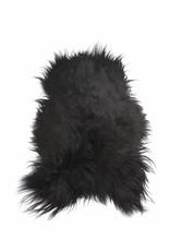 @BERG XL IJslands schapenvacht Zwart