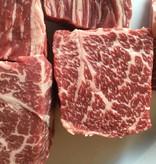 Wagyu BMS 6/7 +   stoofvlees  33.85€/kg