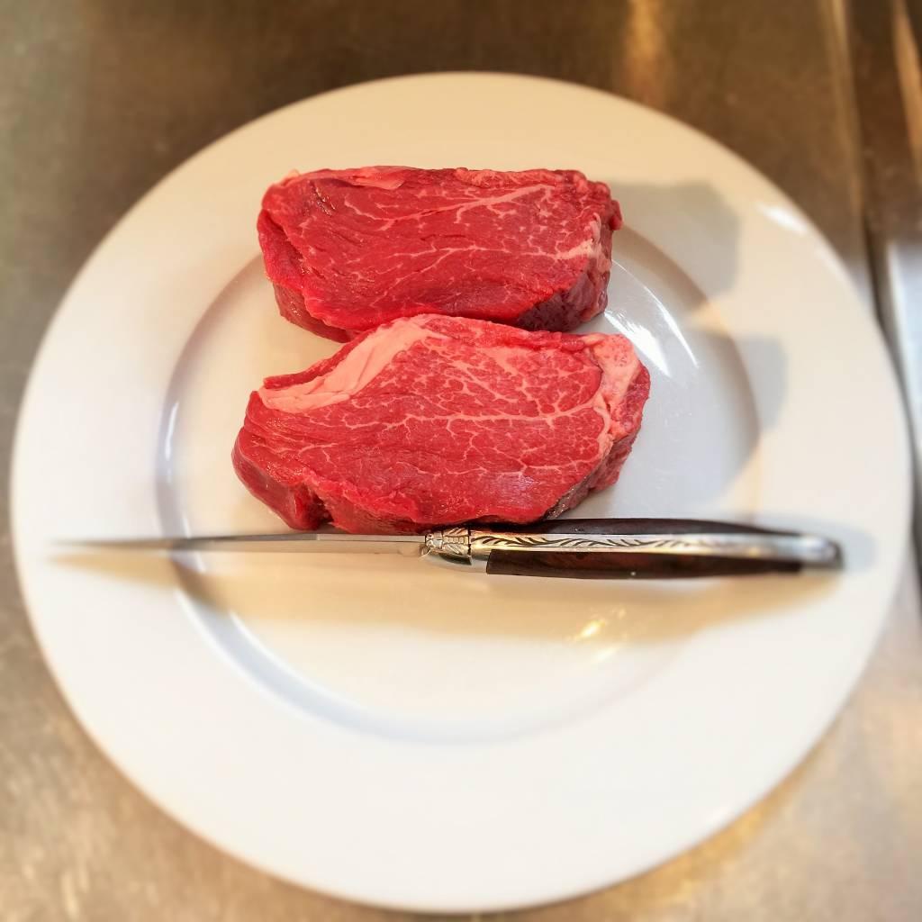 Filet pur, oude MELKKOE 48.99€/kg gesneden op bestelling bel 0475/689.111