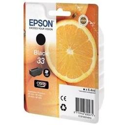 Epson Epson T3331 Zwart 6,4ml (Origineel)
