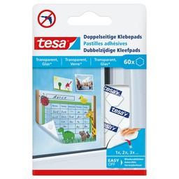 Tesa Tesa klevende pads 77731 transparant