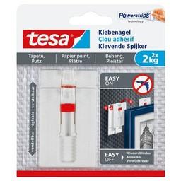 Tesa Tesa verstelbare spijker gevoelige behang & tegelwerk 77777 2 kg