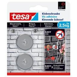 Tesa Tesa Klevende Schroef bakstenen rond 77903 2,5 kg