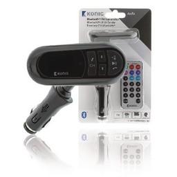 Nedis Auto-FM-zender | Bluetooth® | microSD-kaartsleuf | Handsfree bellen