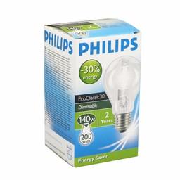 Philips Philips EcoClassic halogeenlamp 220 - 230 V 140 W E27 lichtkleur helder