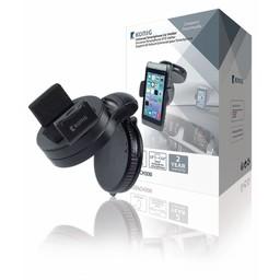 Nedis Smartphone-Houder voor Auto | Zuignap | 360° Draaibaar | 90° Kantelbaar