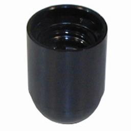 Huismerk Fitting glad E27 zwart