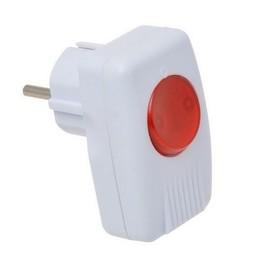Huismerk Stekkerschakelaar + RA + controle lampje