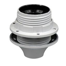 Huismerk Fitting E27 + buitendraad wit   +1 ring