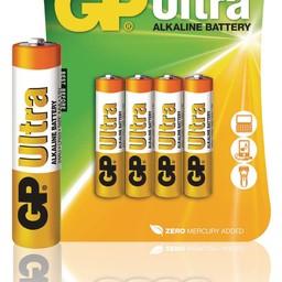 gp Alkaline Batterij AAA 1.5 V Ultra 4-Blister