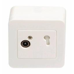 Hirschmann Antenne Wandcontactdoos (Signaalovernamepunt) - Wit 2.5 dB